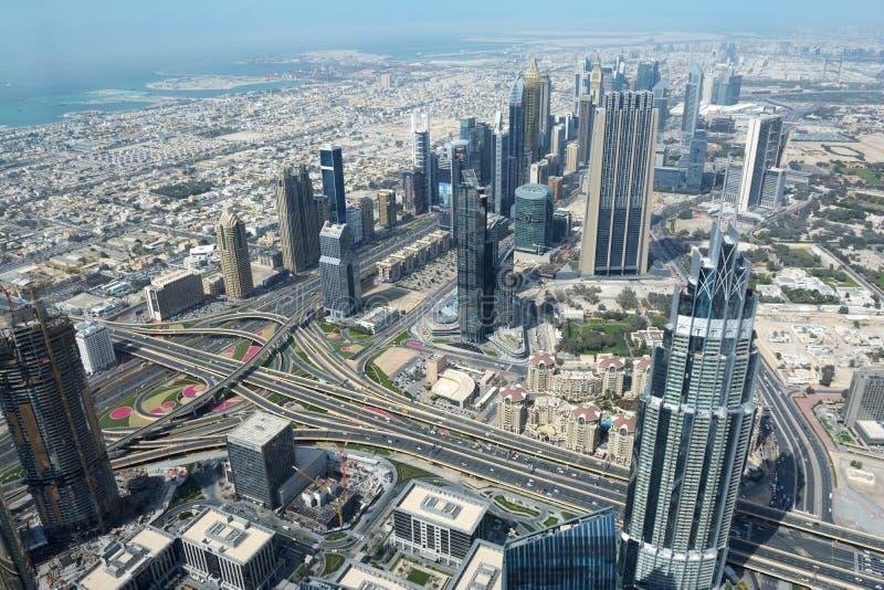 Grattacieli moderni nel Dubai immagine stock