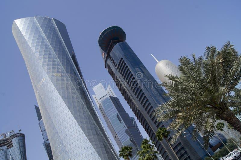 Città di Doha, Qatar immagine stock