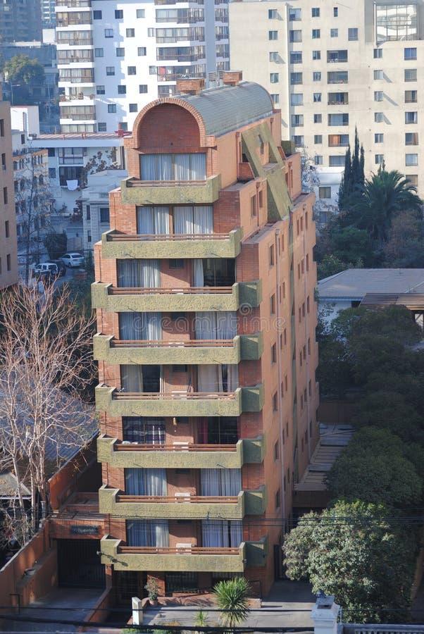 Download Grattacieli A Santiago, Cile Fotografia Stock - Immagine di bello, strade: 56891686