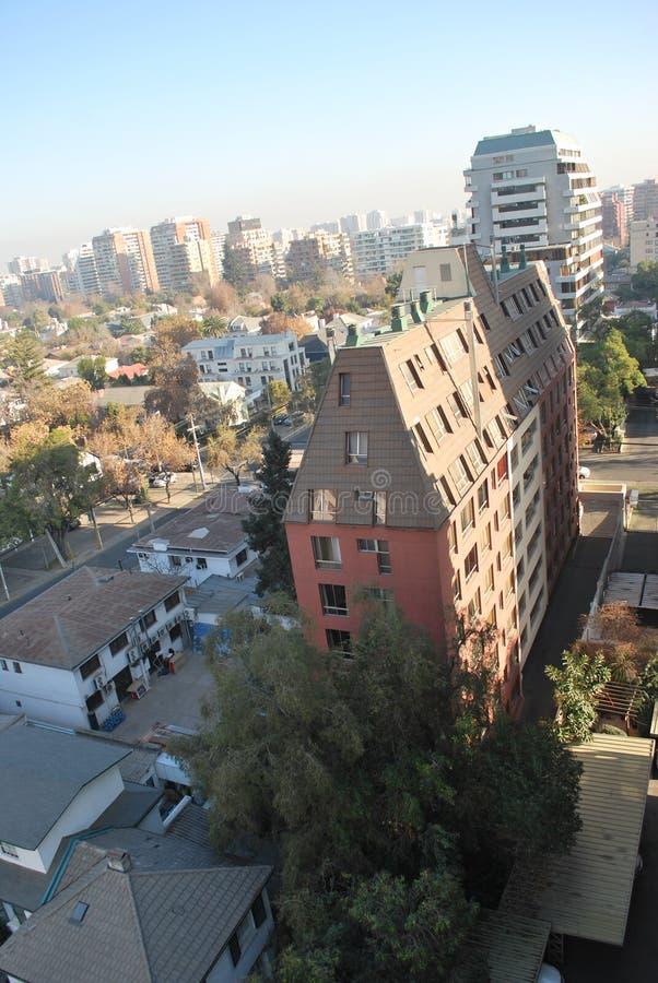 Download Grattacieli A Santiago, Cile Fotografia Stock - Immagine di bello, città: 56892460