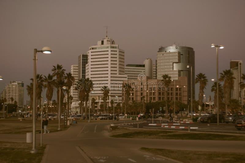 Grattacieli a Tel Aviv 1 fotografia stock