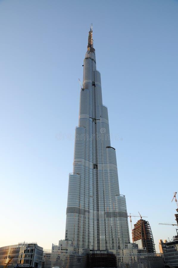 Grattacielo Burj Doubai fotografie stock libere da diritti
