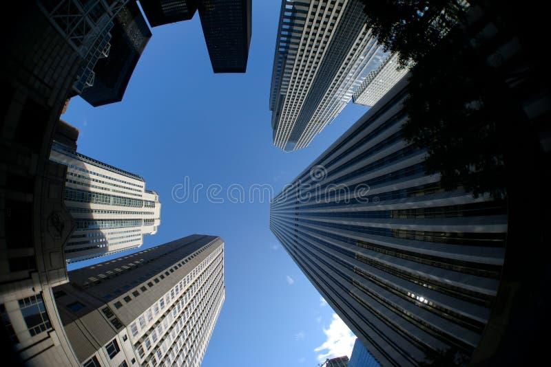 Grattacielo del centro fotografie stock libere da diritti