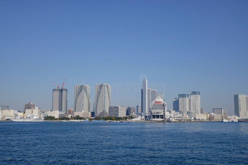 Grattacielo della città di Tokyo immagini stock libere da diritti