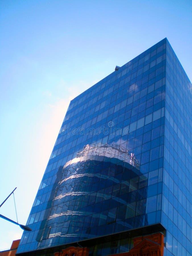 Grattacielo Dniepropetovsk fotografia stock