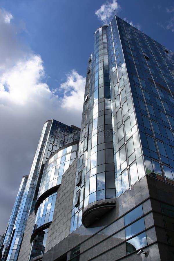 Grattacielo moderno fotografie stock libere da diritti