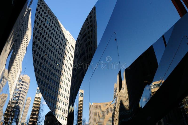 Grattacielo Montreal del centro immagine stock libera da diritti