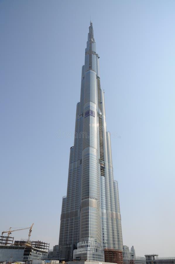 Grattacielo più alto Burj Doubai del mondo fotografia stock libera da diritti