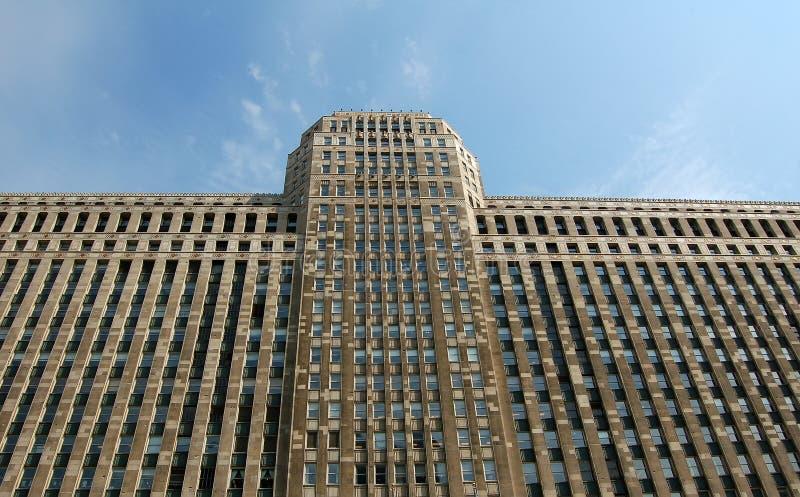 Grattacielo voluminoso immagine stock