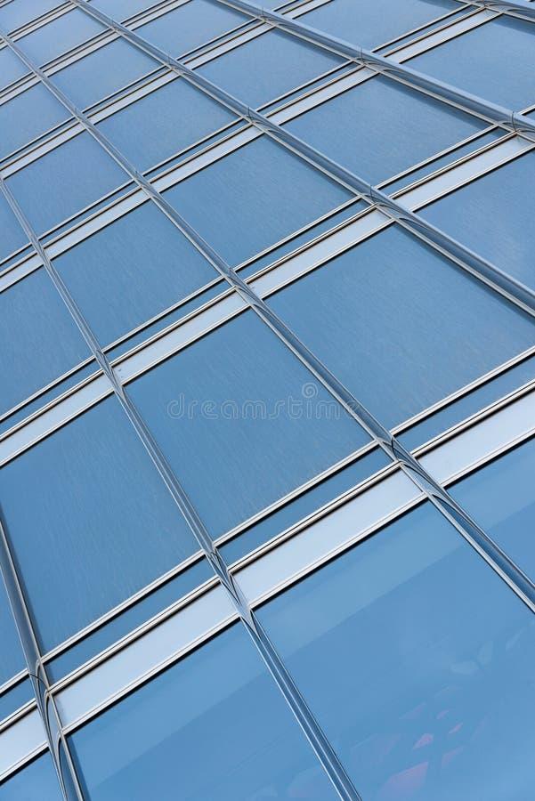 Grattacielo Windows fotografia stock