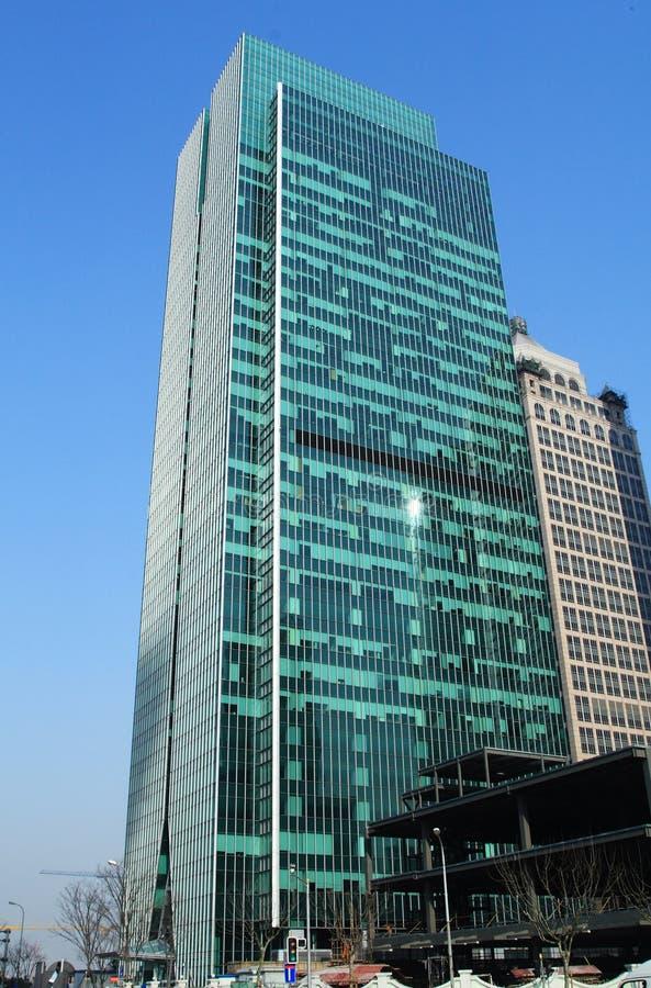 Gratte-ciel à Changhaï photographie stock