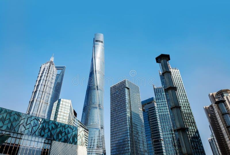 Gratte-ciel à Changhaï, Chine image libre de droits