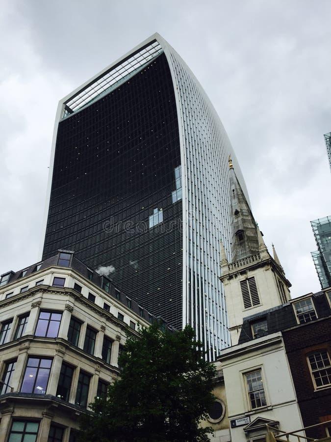 Gratte-ciel à Londres photo stock