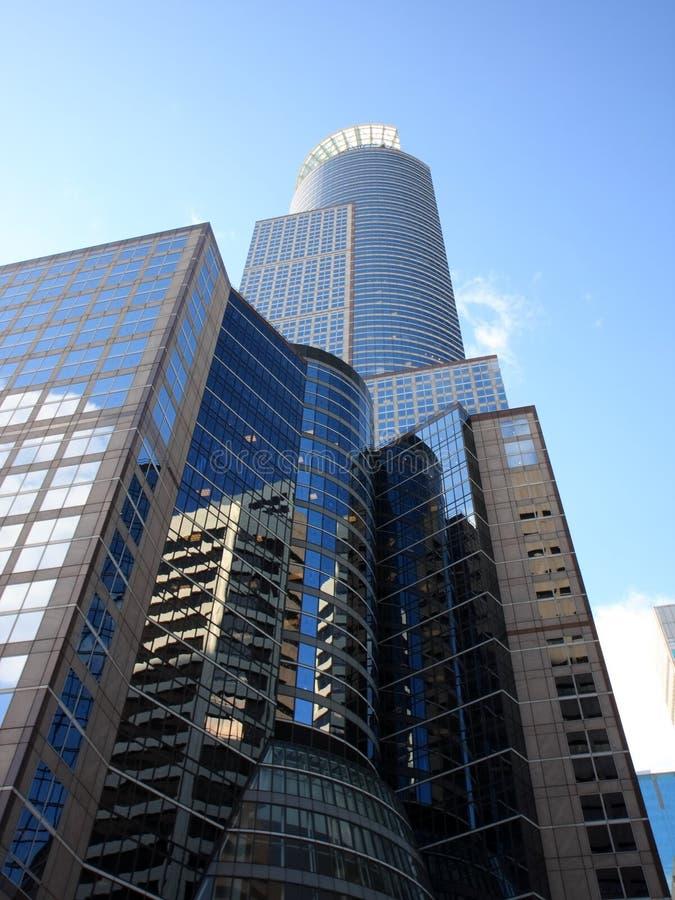 Gratte-ciel à Minneapolis photo libre de droits
