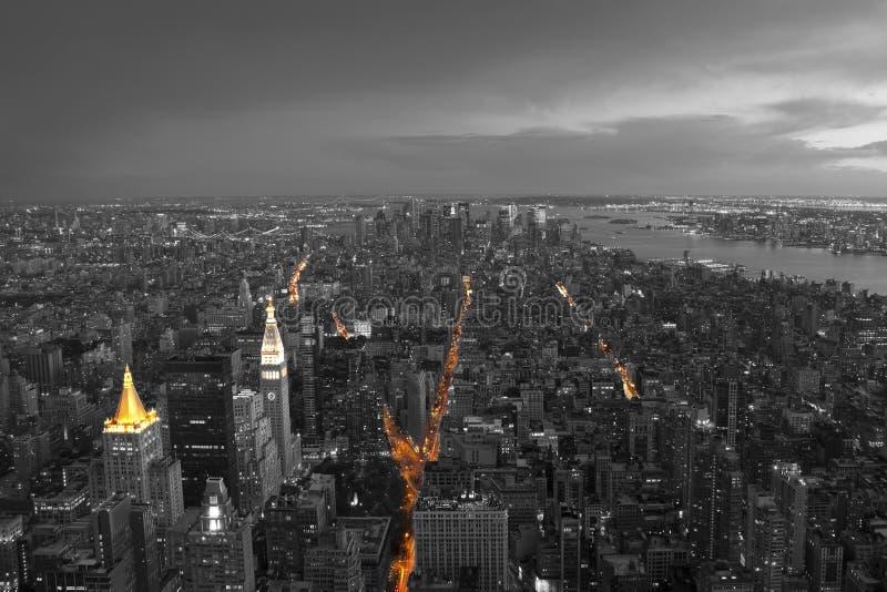 Gratte-ciel à New York photos stock