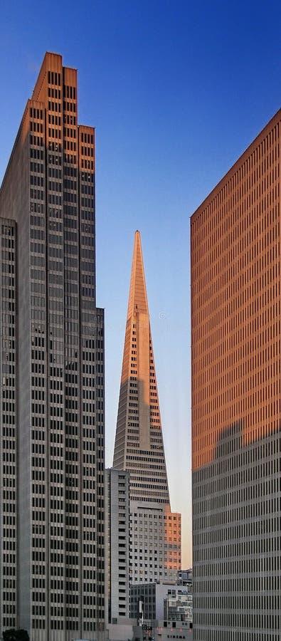 Gratte-ciel à San Francisco photos stock