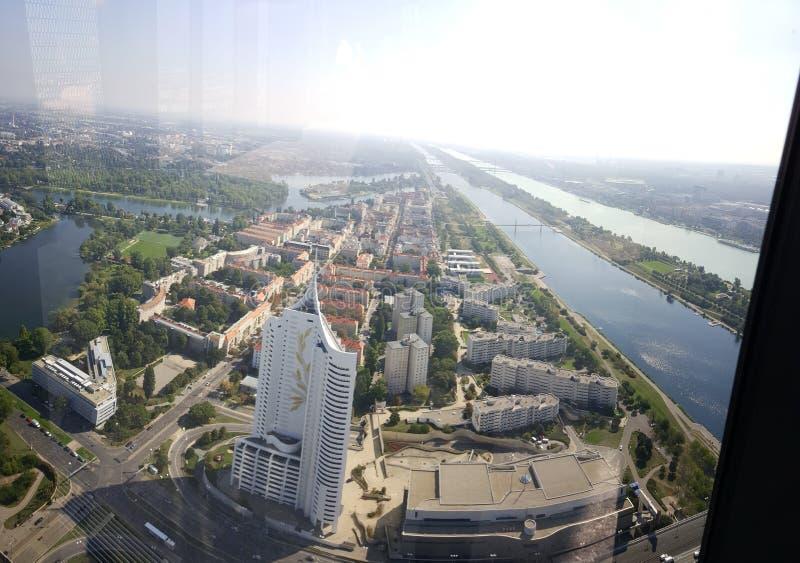 Gratte-ciel à Vienne photo stock