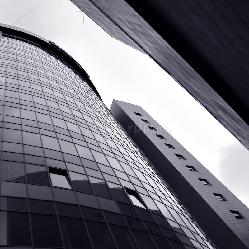 Gratte-ciel abstraits de construction image libre de droits