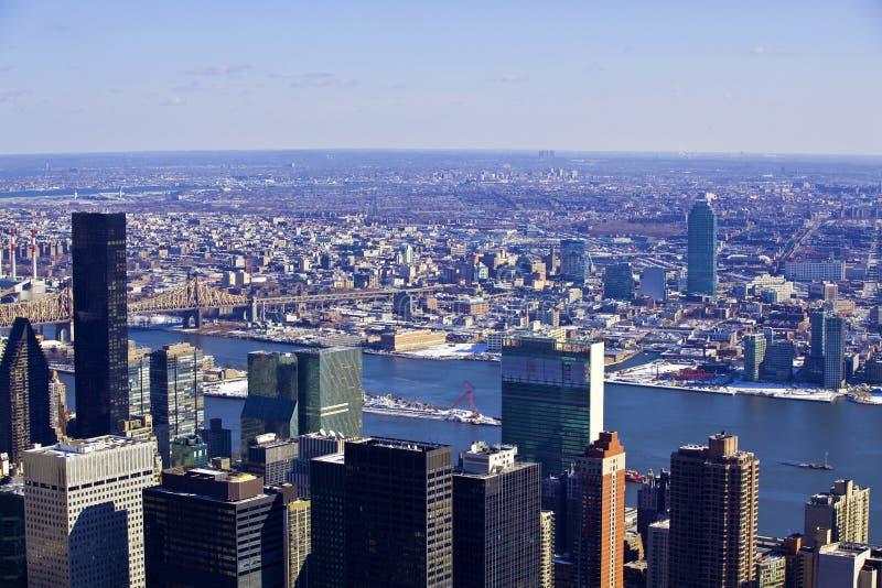 Gratte-ciel architecturaux à New York City photographie stock