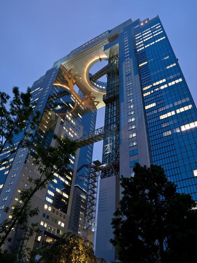 Gratte-ciel d'Osaka image libre de droits