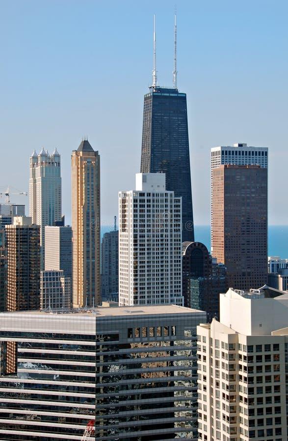 gratte-ciel de Chicago image libre de droits