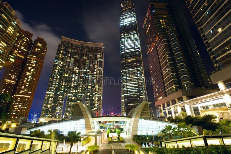 Gratte-ciel de Hong Kong Kowloon photo stock