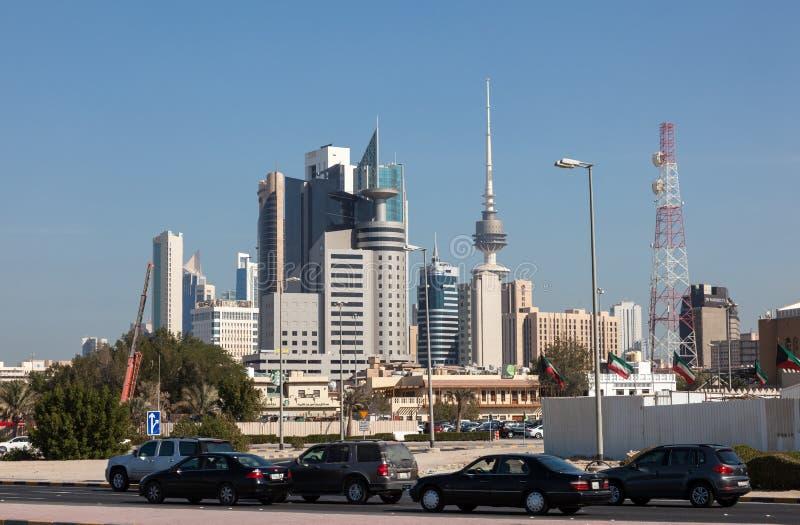 Gratte-ciel de Kuwait City images stock