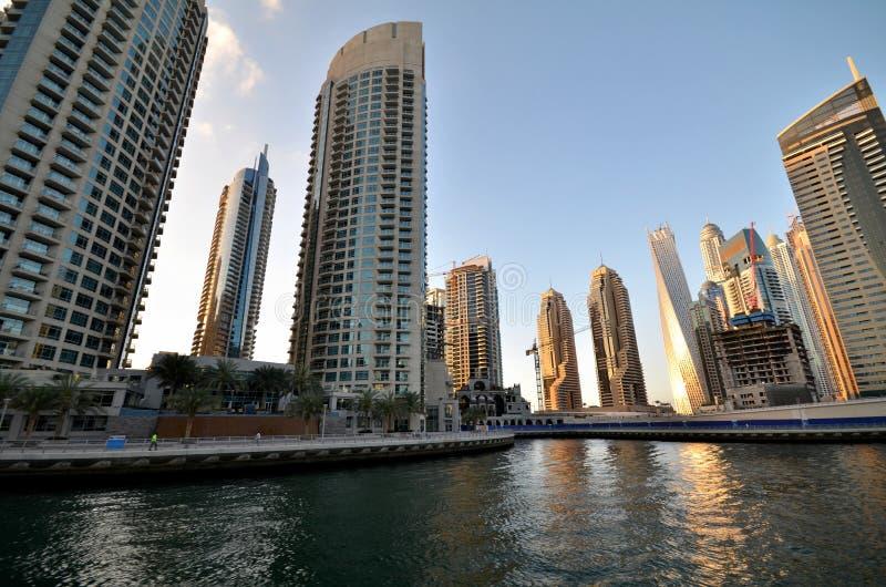 Gratte-ciel de la ville de Dubaï, Emirats Arabes Unis image libre de droits