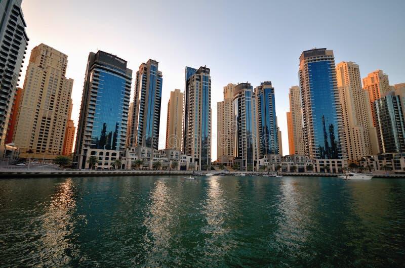 Gratte-ciel de la ville de Dubaï, Emirats Arabes Unis photo libre de droits