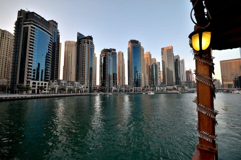 Gratte-ciel de la ville de Dubaï, Emirats Arabes Unis photo stock