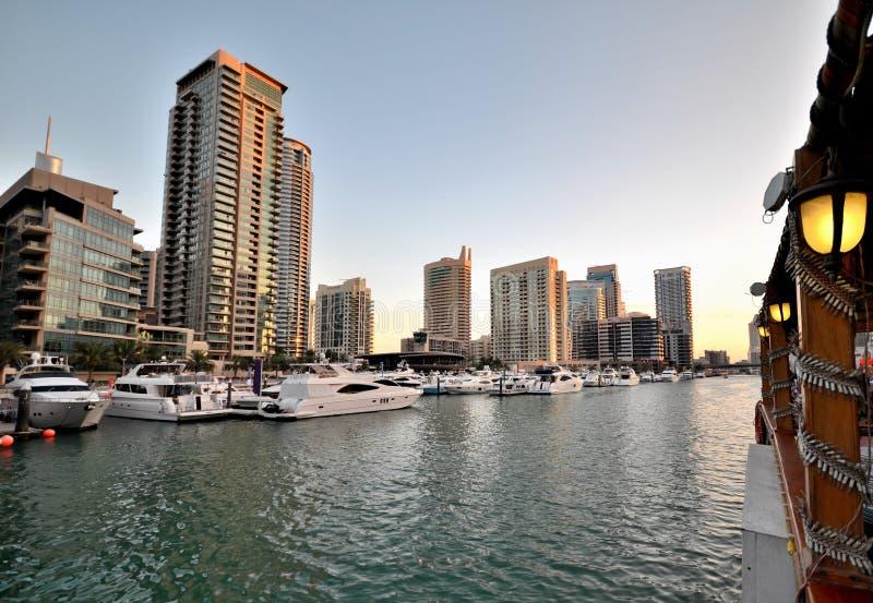 Gratte-ciel de la ville de Dubaï, Emirats Arabes Unis image stock