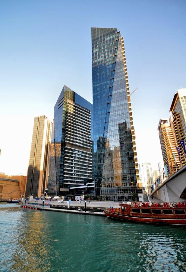 Gratte-ciel de la ville de Dubaï, Emirats Arabes Unis images stock
