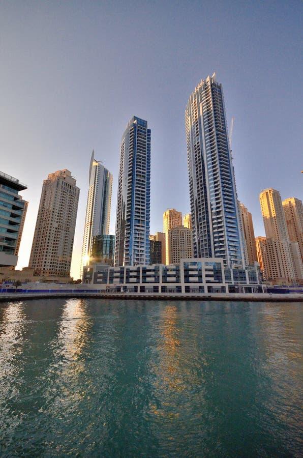 Gratte-ciel de la ville de Dubaï, Emirats Arabes Unis photographie stock libre de droits