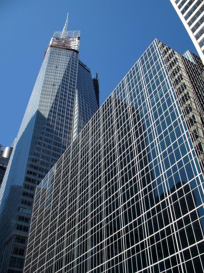 Gratte-ciel de Manhattan image libre de droits
