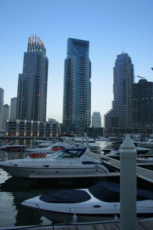 Gratte-ciel de marina de Dubaï, Emirats Arabes Unis images stock