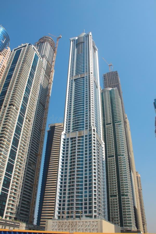 Gratte-ciel de marina de Dubaï, Emirats Arabes Unis photo stock