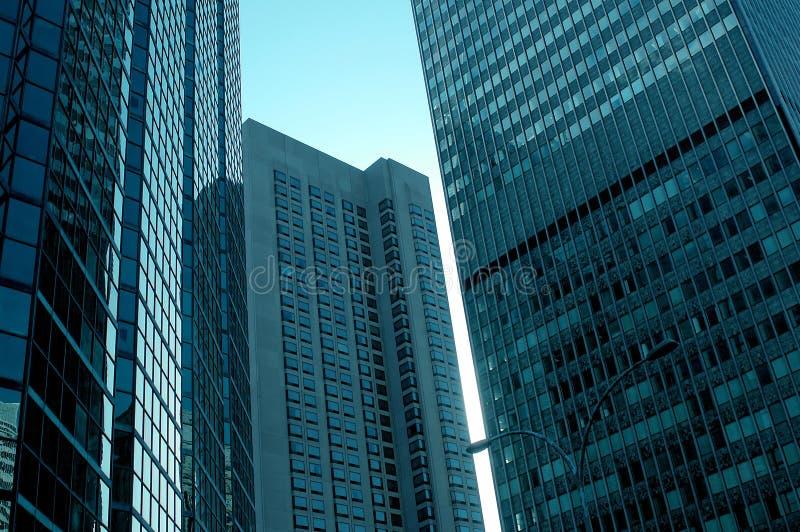 Gratte-ciel de Montréal images libres de droits