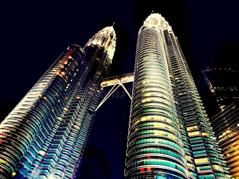 Gratte-ciel de Petronis photo libre de droits
