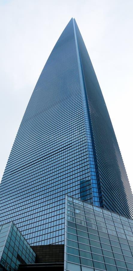 Gratte-ciel de place financière de Changhaï images libres de droits