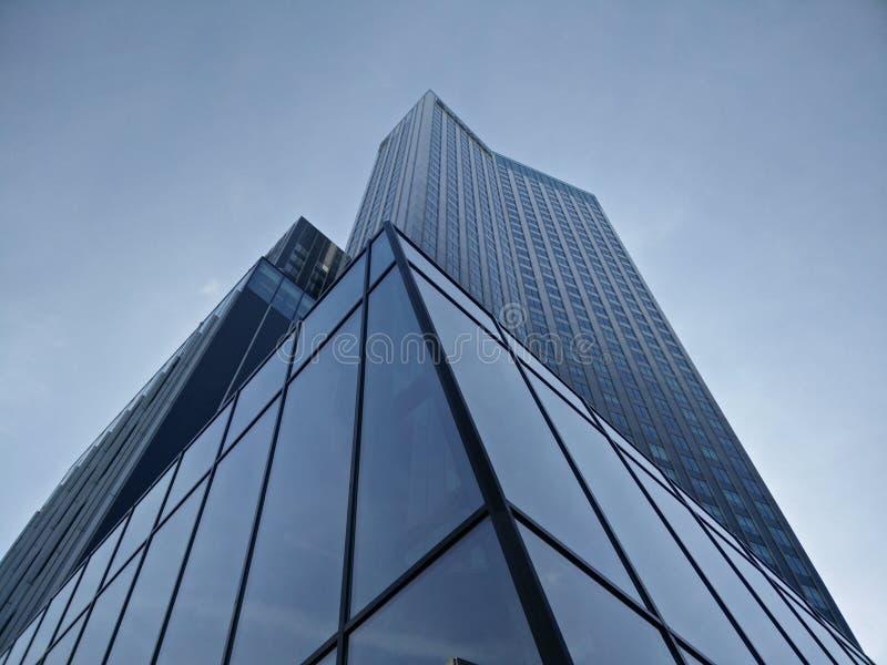 Gratte-ciel de Rotterdam photos libres de droits