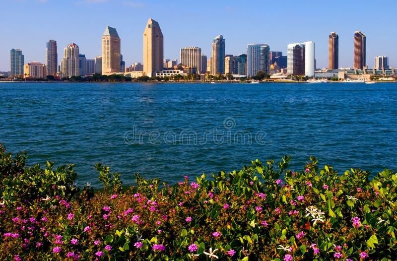 Gratte-ciel de San Diego photos stock