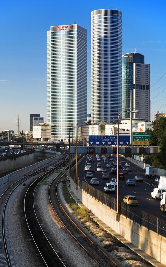 Gratte-ciel de Tel Aviv image stock