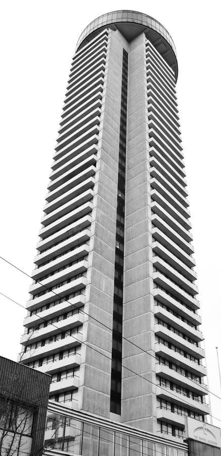 Gratte-ciel de Vancouver image libre de droits