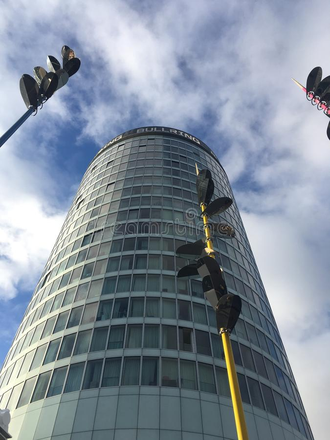 Gratte-ciel de ville de Birmingham image stock
