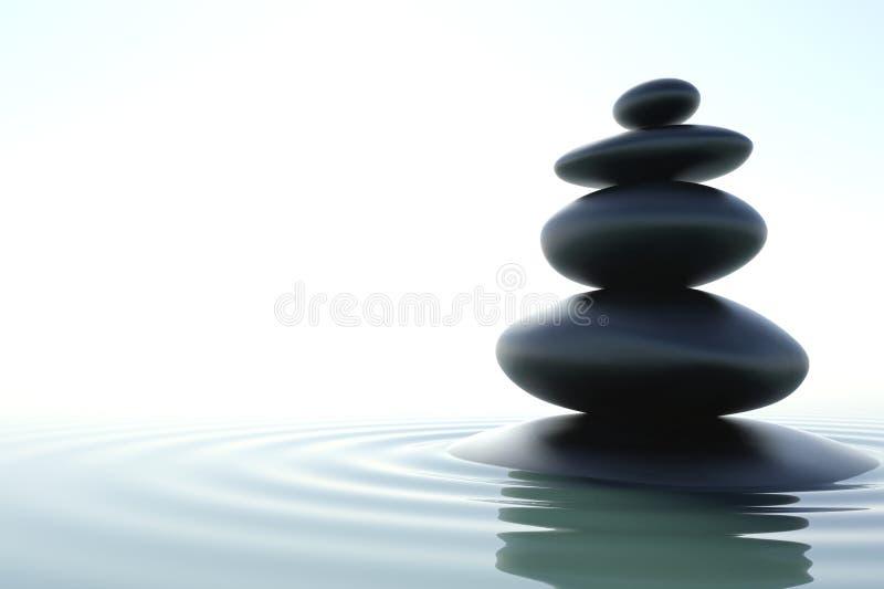 Gratte-ciel de zen illustration libre de droits