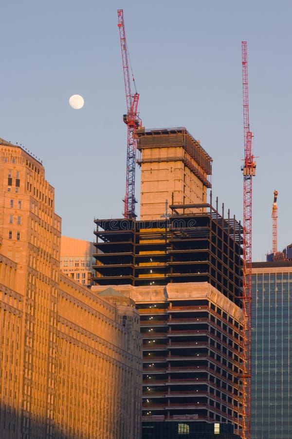Gratte-ciel neuf Chicago images libres de droits