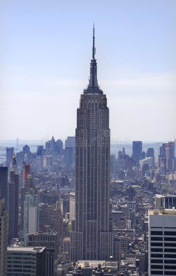 Gratte-ciel New York City d'Empire State Building photo stock