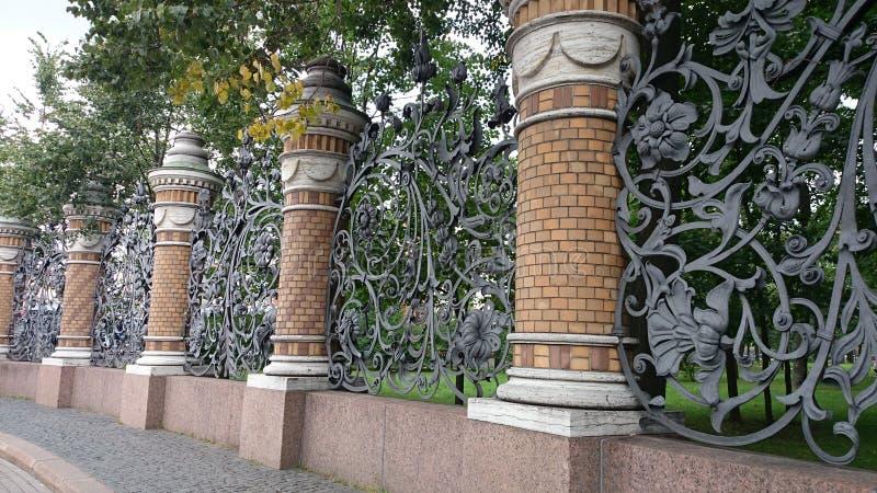 Gratti il giardino di Mikhailovsky fotografie stock libere da diritti