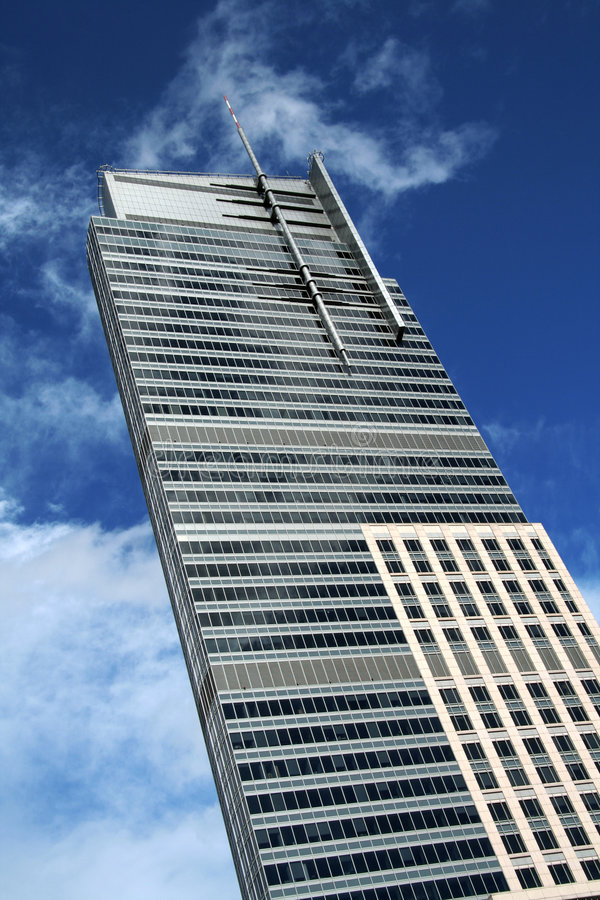 Grattoir de ciel photos libres de droits