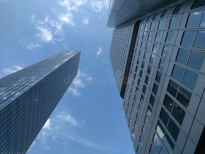 Grattoirs de ciel image libre de droits
